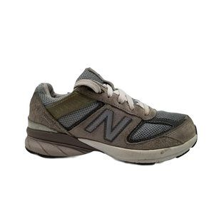 New Balance 990v5 Grey Suede Running Shoes Sz 13